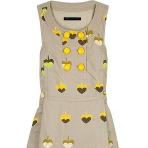Marc by Marc Jacobs tan printed dress